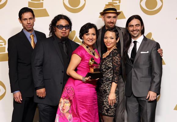 Quetzal Red Carpet Grammy Award